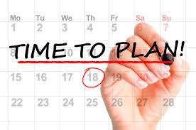 Activity Calander planning