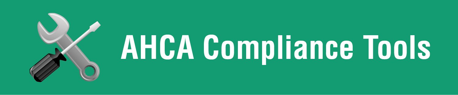 ahca compliance tools