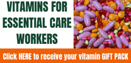 Vitamins For Essential Care Workers