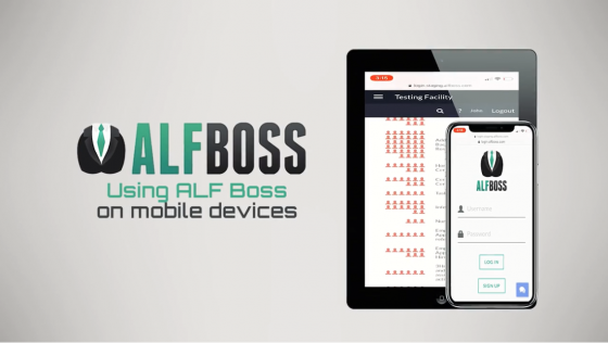 using alfboss on mobile devices