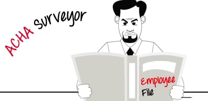 angry acha surveyor employee file