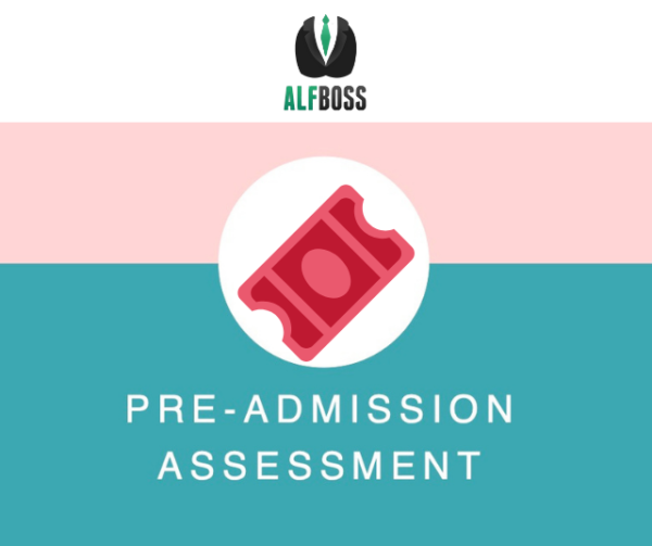 The pre-admission assessment