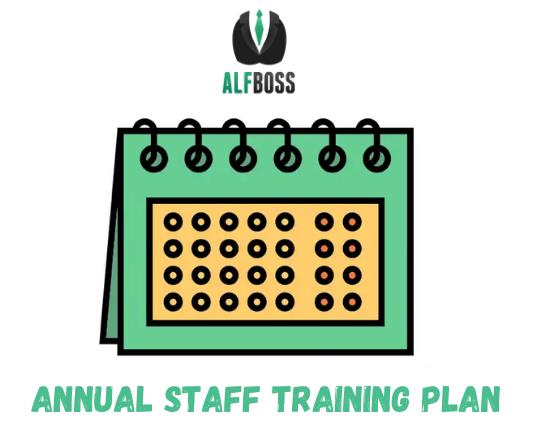 Annual staff training plan