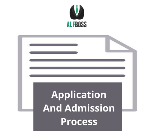 Application and admission process