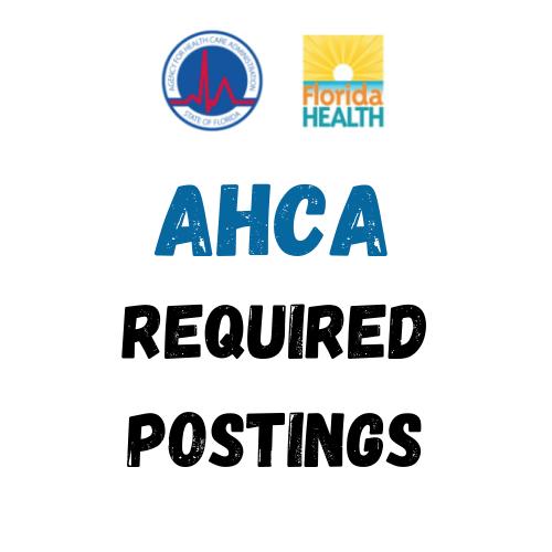 AHCA required postings